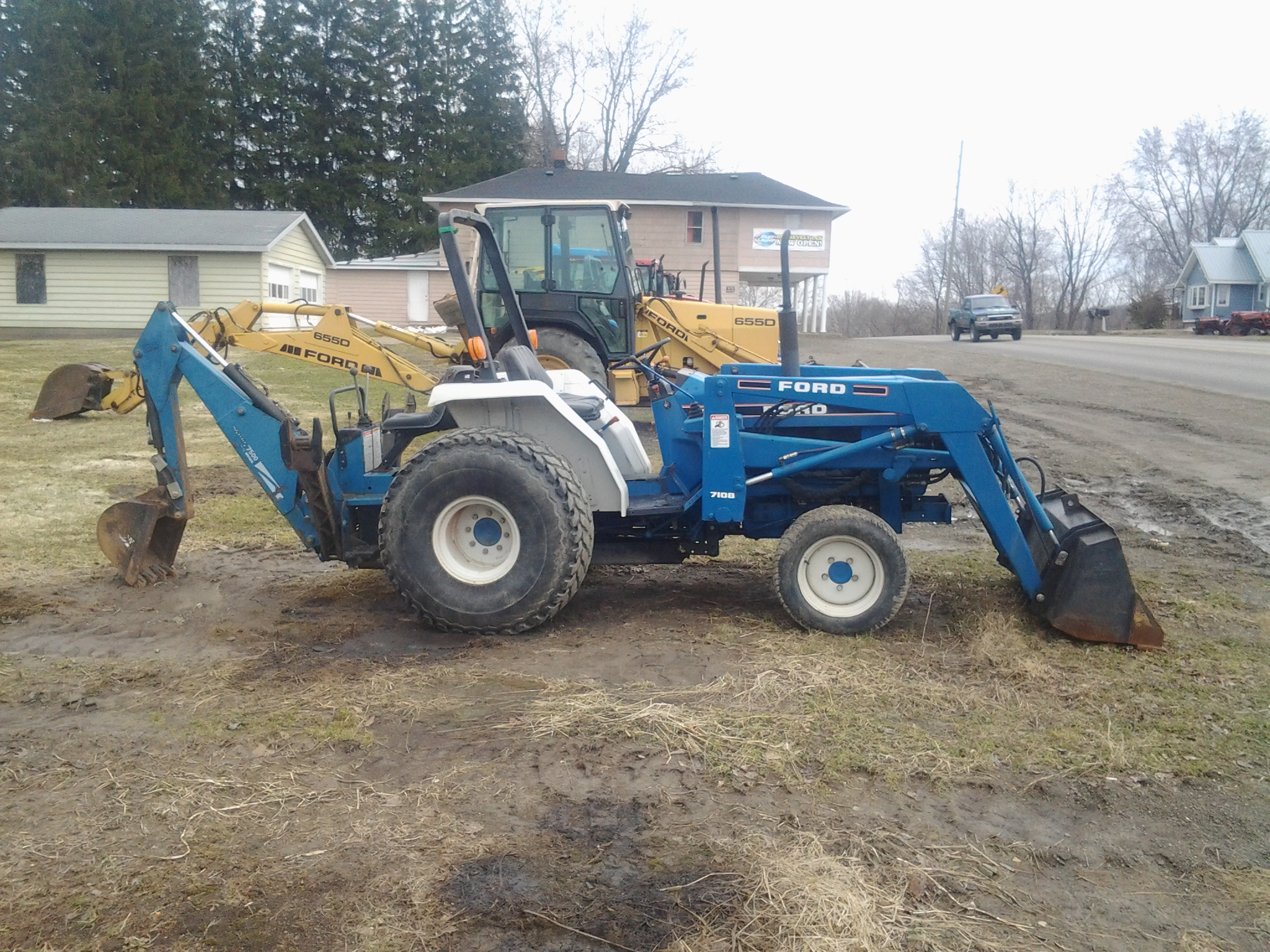 New Holland Ford Tractor 1920 : New holland tractor for sale autos post
