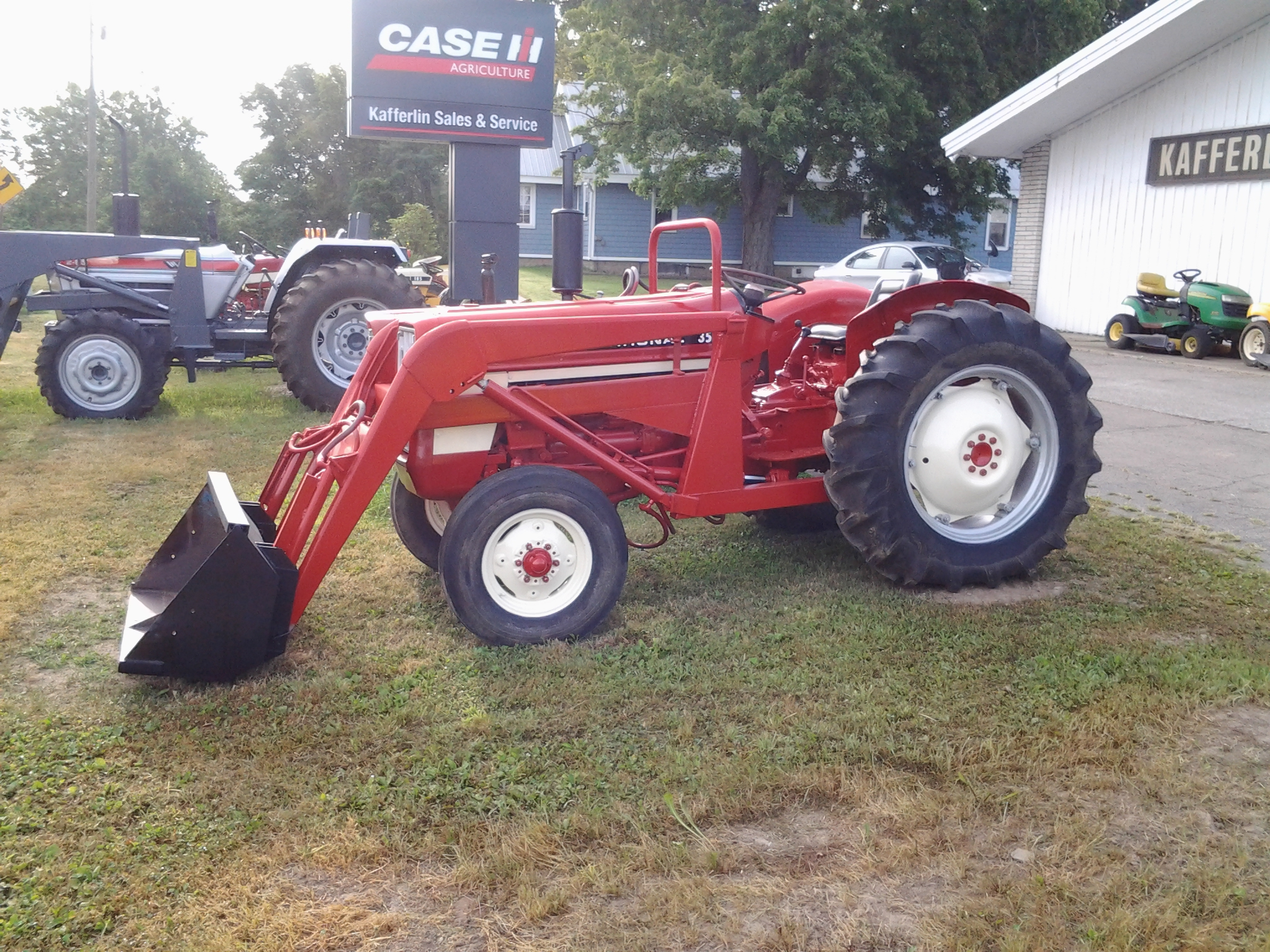 Ih Tractor Loaders : Used tractors